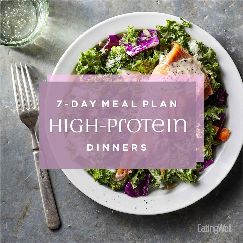 7-Day Dinner Plan: High-Protein Dinners