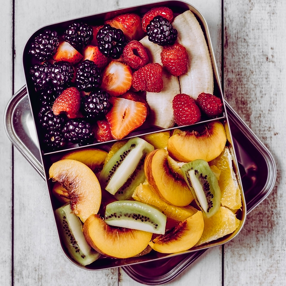 Fresh Fruit in a packable container