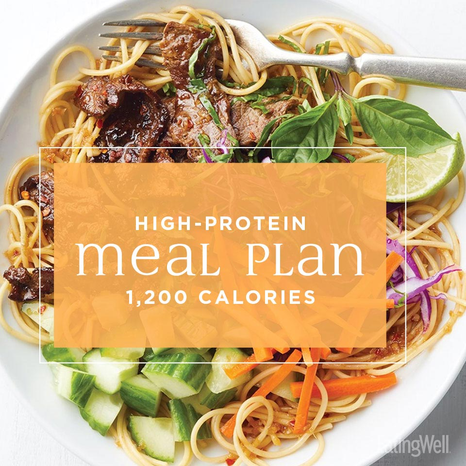 High-Protein Meal Plan: 1,200 Calories