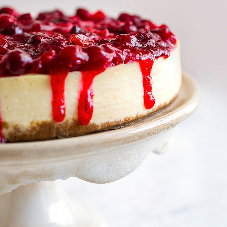 Cranberry-Lime Cheesecake