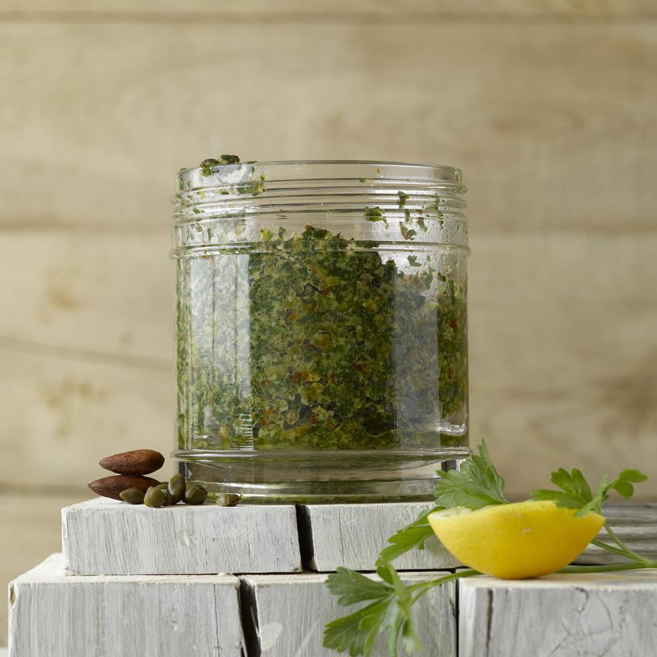 Parsley-Caper Pesto