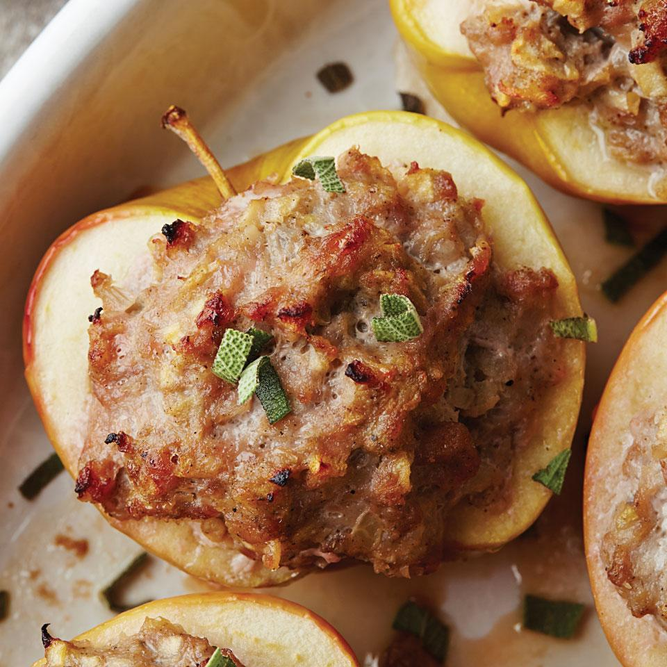 Sausage-Stuffed Apples
