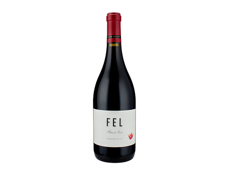 bottle of 2016 FEL Pinot Noir Anderson Valley