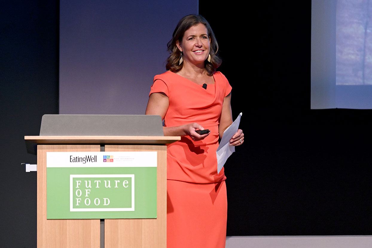 Jessie Price, Editor-in-chief of EatingWell kicks off the Future of Food Summit
