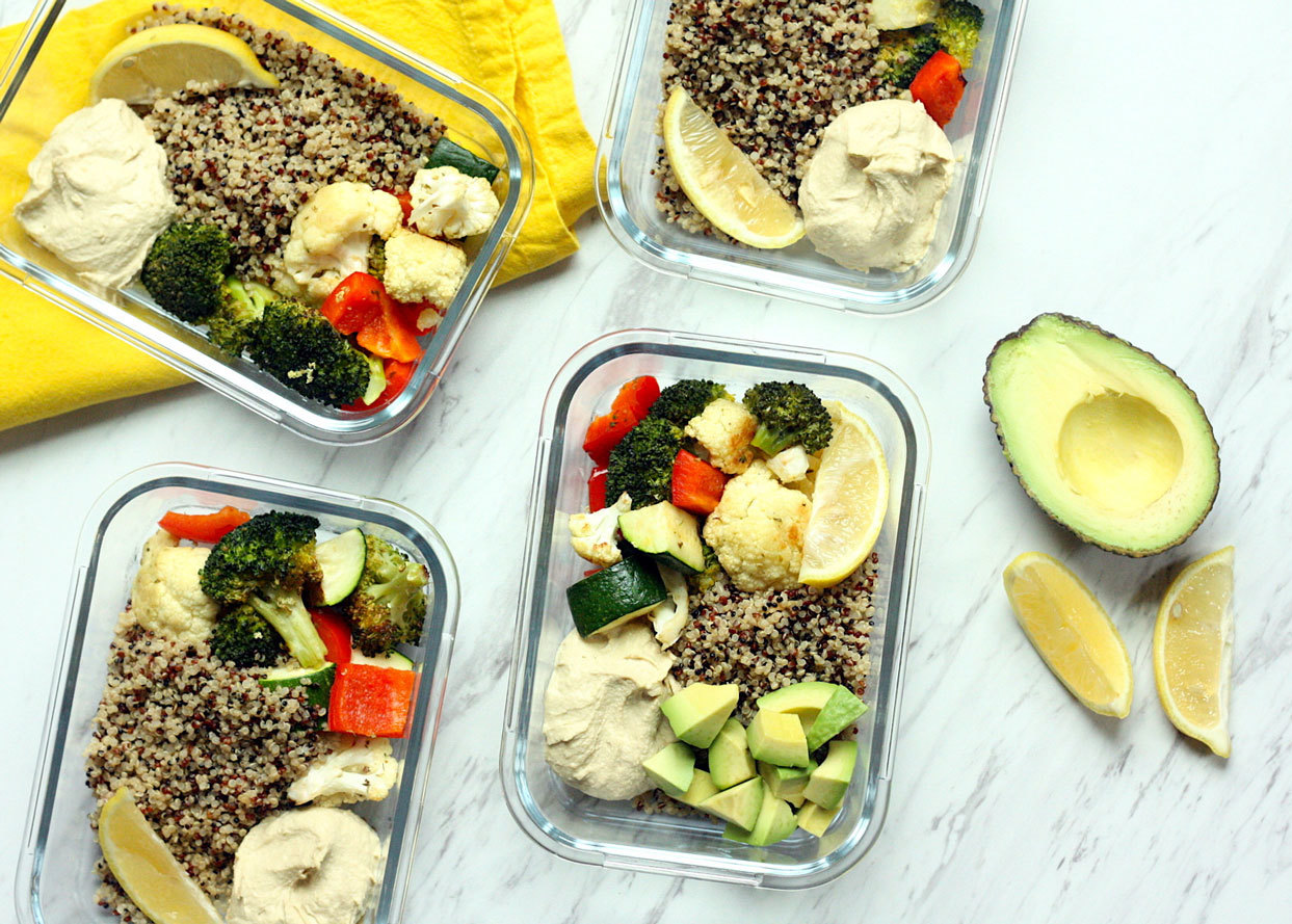 How to Meal-Prep for a Week of Flat-Belly Lunches
