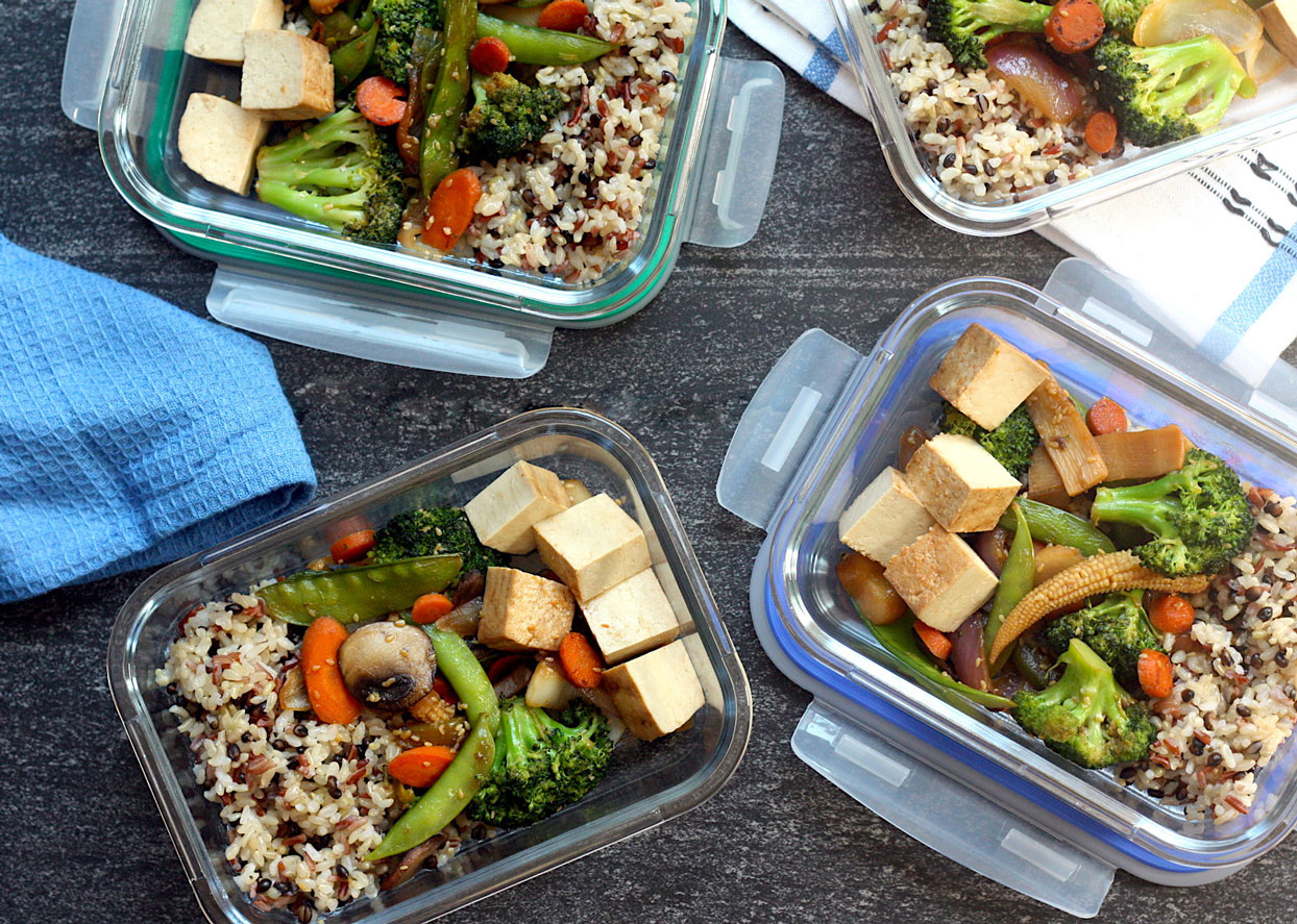 How to Meal-Prep a Week of High-Fiber Lunches from Trader Joe's