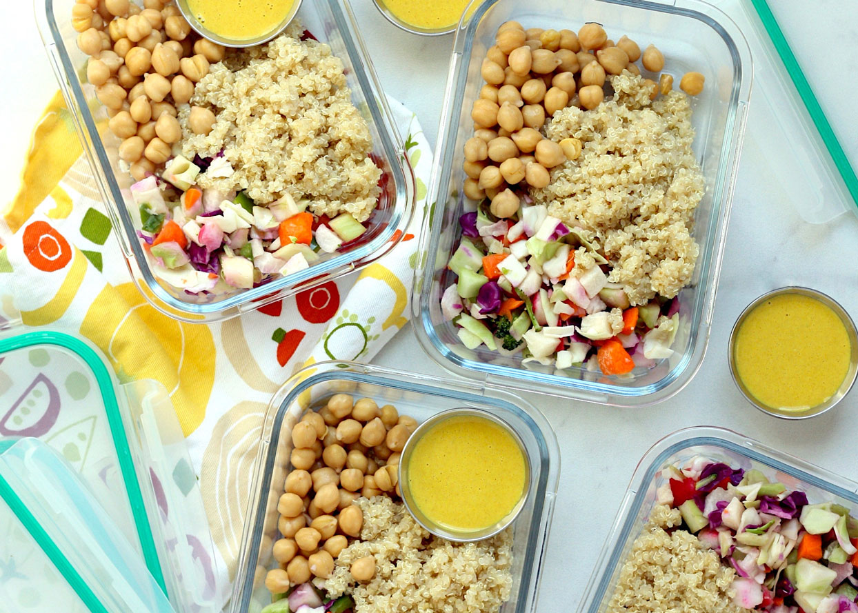 How to Meal-Prep a Week of 400-Calorie Lunches from Trader Joe's