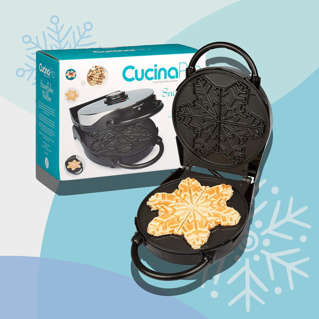 This Adorable Snowflake Waffle Maker Is a Frozen Fan's Dream—and It's Only $35
