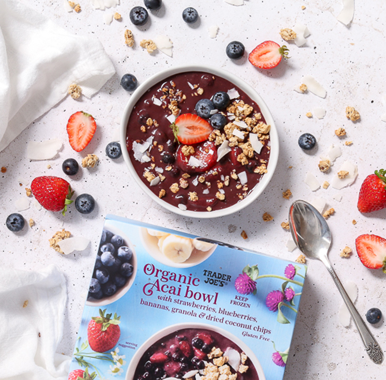 Trader Joe's Is Selling $4 Acai Bowls With All the Toppings