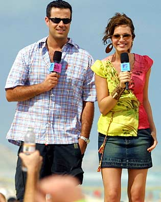 Carson Daly, Mandy Moore