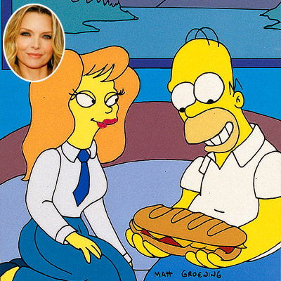 THE CHARACTER Mindy Simmons (from ''The Last Temptation of Homer,'' 1993) Homer knew he was in trouble after meeting a new female coworker whose idea…