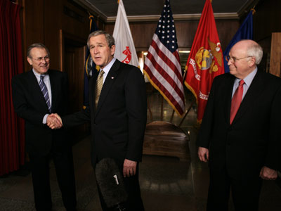 Dick Cheney, George W. Bush, ...