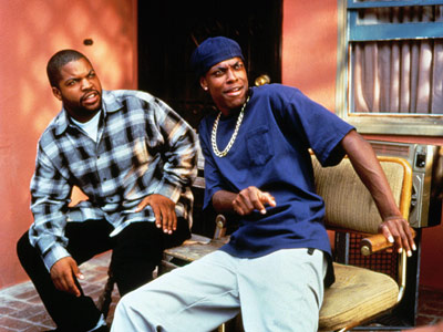 Ice Cube, Chris Tucker, ...   On Friday, with nothing to do, Ice Cube and Chris Tucker get high, sit on a porch, and watch the ghetto go by. Oh, and…