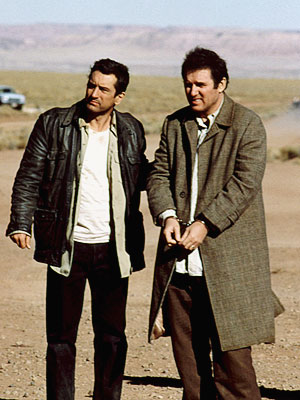 Robert De Niro, Charles Grodin, ... | Robert De Niro and Charles Grodin compete to see who can do the funnier slow burn as annoyed bounty hunter De Niro drags annoying Mob…