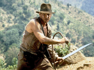 Harrison Ford, Indiana Jones and the Temple of Doom
