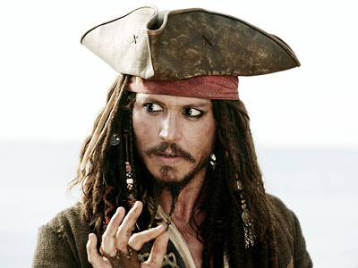 Johnny Depp, Pirates of the Caribbean: Dead Man's Chest