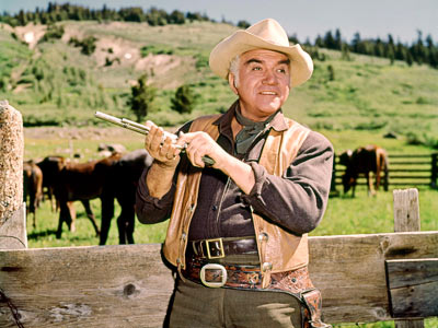 Lorne Greene | BONANZA (1959-73) ''The acting was awful and the story lines were arrogant. The writers made every character who wasn't a Cartwright stupid or a coward…
