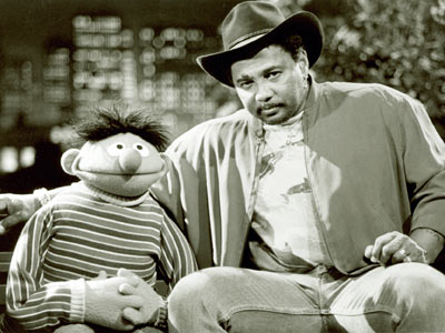 Aaron Neville, Sesame Street | AARON NEVILLE The big guy sweetly sang — as if there were any other way — ''I Don't Want to Live on the Moon'' with…