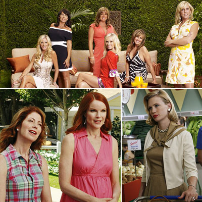 Mad Men, Desperate Housewives