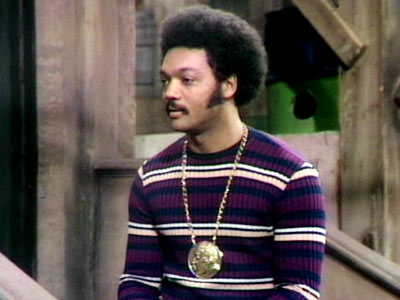 Jesse Jackson, Sesame Street | JESSE JACKSON Talking to a group of kids on the Street, Jackson gave an early lesson in self-confidence and tolerance, encouraging the tykes to accept…