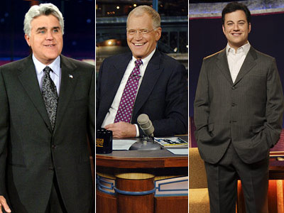 Jay Leno, Jimmy Kimmel, ...