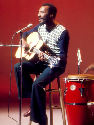 Richie Havens, Sesame Street | RICHIE HAVENS This is one of those low-key musical performances the show did before deciding to add bouncing Muppets to every number, and the simplicity…