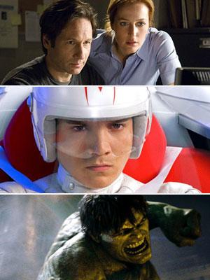 The Hulk, Speed Racer, ...