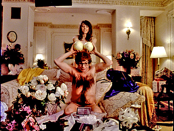 Mike Myers, Elizabeth Hurley, ... | In Austin Powers: International Man of Mystery (1997) The Austin Powers series is full of shagadelic jokes that almost go there but stop short, leaving…