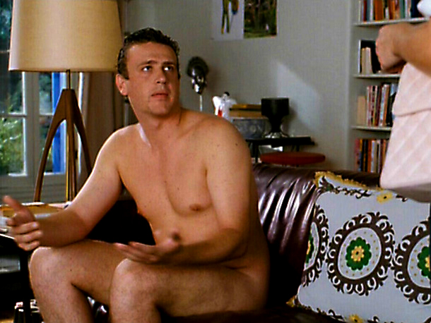Jason Segel, Forgetting Sarah Marshall | in Forgetting Sarah Marshall (2008) It's once, twice, three times a wiener in the first scenes for Jason Segel 's pitiful but lovable Peter Bretter…