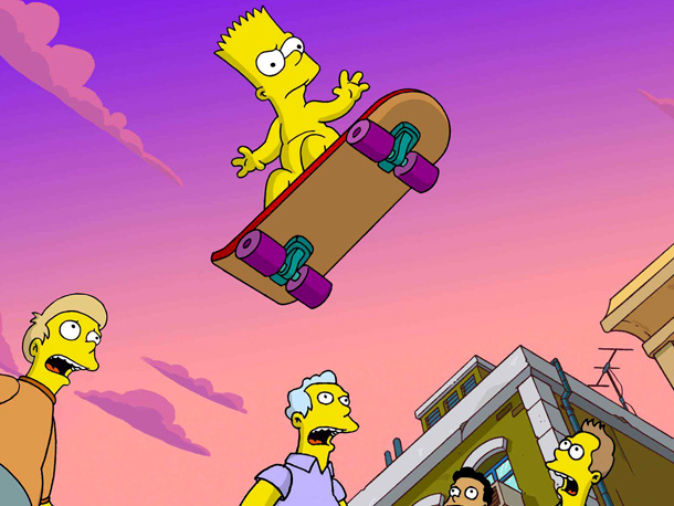 Bart Simpson, The Simpsons Movie | in The Simpsons Movie (2007) When you're eternally 10 years old, you can appreciate the finer things in life — like it being somewhat socially…
