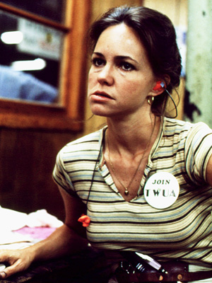 Sally Field, Norma Rae | With the pluck of the Flying Nun and the grace of Nora Walker, Sally Field's Norma Rae Webster (based on the real life Crystal Lee…