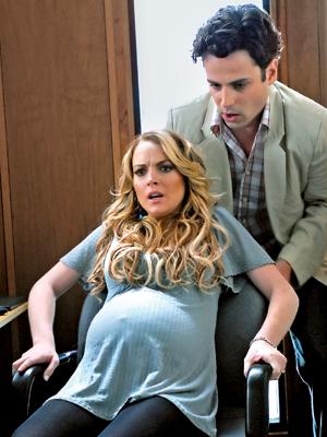Lindsay Lohan, Labor Pains