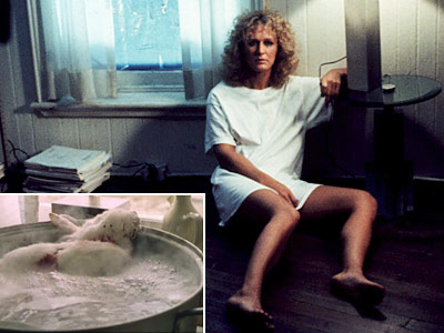 Fatal Attraction | Little Ellen's bunny takes the hit for Michael Douglas' infidelity after what turns out to be a not-so-harmless fling. Glenn Close cooks up a little…