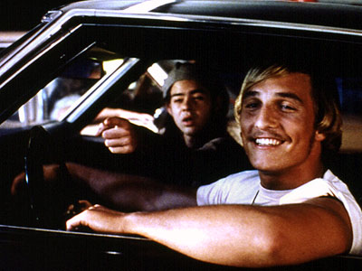 Dazed And Confused, Matthew McConaughey   Richard Linklater's slacker opus glides along on a buzz stoked by Aerosmith and carefree youth. You don't need to have a joint to hang with…