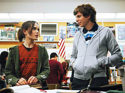 Juno, Ellen Page, ... | Ellen Page as Juno (2007) leaves orange Tic-Tacs in Michael Cera 's mailbox to make up with him.