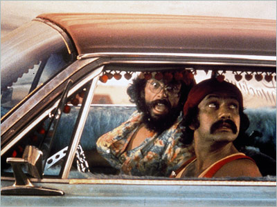 Cheech & Chong, Cheech & Chong's Up in Smoke   Cheech and Chong bring their doobie-brothers act to the big screen, at one point illegally crossing the border in a van made entirely of reefer.…