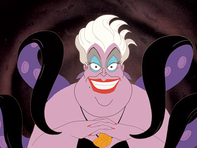 The Little Mermaid   The Little Mermaid (1999) Voiced by veteran comedienne Pat Carroll, the villain in Disney's animated blockbuster is an undersea baddie of epic proportions: a giant…