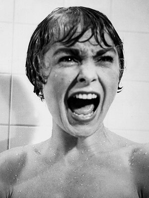 Janet Leigh, Psycho (Movie - 1960)   Directed by Alfred Hitchcock WILLIAM FRIEDKIN SAYS: '' Psycho was the first film that really scared me, that made me think, Oh my God, this…