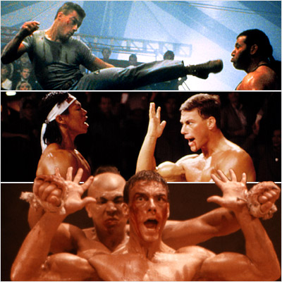 Jean-Claude Van Damme, Lionheart | I have to add a Jean-Claude Van Damme trilogy. I'm going to go with the late '80s JCVD films: BLOODSPORT , KICKBOXER , and LIONHEART…