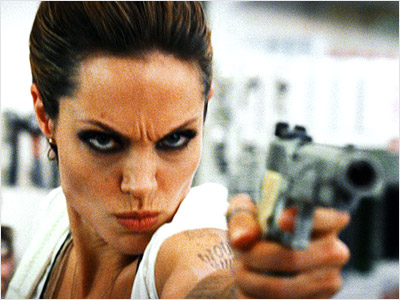 Angelina Jolie, Wanted | WANTED was all kinds of craptacular awesomeness. Yeah, it deviated from the source material extensively, but made up for it with the incredibly stylish action…