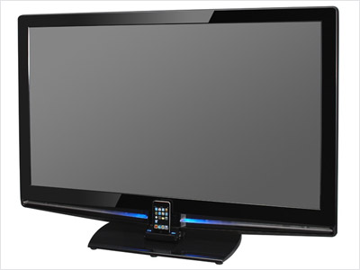 Plug your iPod in to one more home gadget with this line of HD TVs. Click to buy