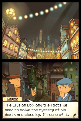 Nintendo | Part adorable cinematic story, part surprisingly challenging puzzler, Layton 's a complete blast. Click to buy