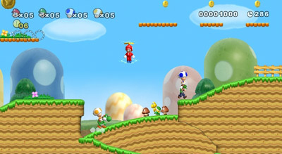 Nintendo | ''New'' is almost a misnomer here: this latest Super Mario game is as old-school as they come, with that side-scroll goodness you remember from back…