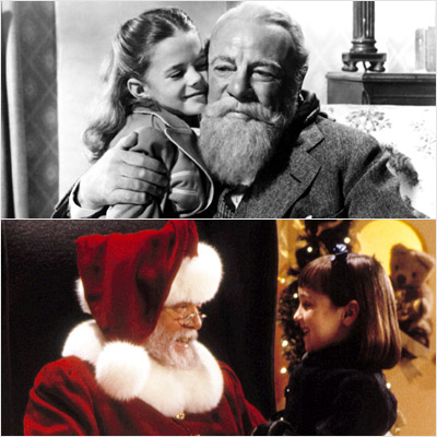 Miracle On 34th Street, Richard Attenborough | We always watch Miracle on 34th Street . We have a years-long battle going between which is better: the older version with Natalie Wood [1947]…