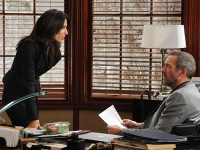 House, Hugh Laurie, ... | House recap: The Cuddy System Wilson suggested Cuddy turn to House for advice about negotiating, which she lamely resisted only to discover House, duh, sitting…