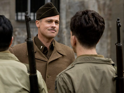 Brad Pitt, Inglourious Basterds | Selling points: It's one of only three films (along with The Hurt Locker and Precious ) to score the trifecta of SAG, DGA, and PGA…