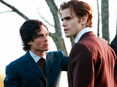 The Vampire Diaries, Ian Somerhalder, ... | The Vampire Diaries recap: Diggin' up bones Like Elena, I do believe that Damon believes he loves Katherine, and now I understand why. His father…