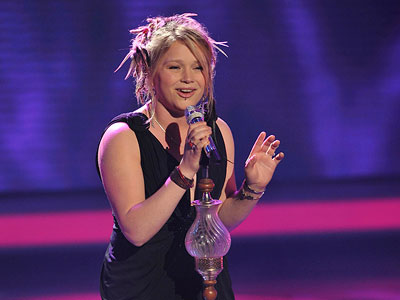 American Idol, Crystal Bowersox | American Idol recap: The power of a good cry Crystal covered her face, whispered a ''sorry'' into the mic, then tried to lighten the mood…