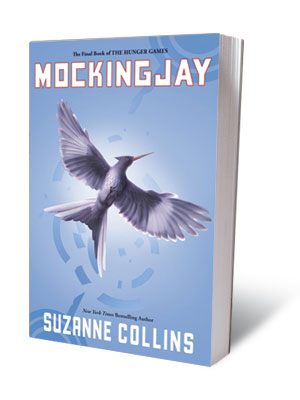 MOCKINGJAY , Suzanne Colllins (Aug. 24) The final volume of Collins' dystopian trilogy, following The Hunger Games and Catching Fire .