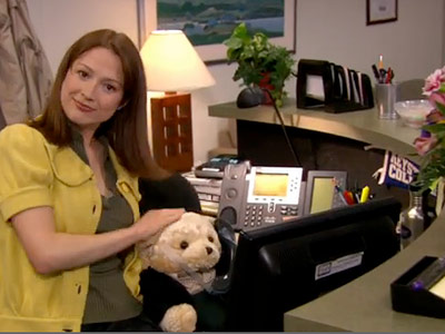 The Office, Ed Helms | The Office recap: Me want cookie! The breakout characters for this episode were definitely Erin and Gabe, two of the newer faces at DMHQ, and…
